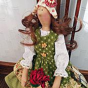 Куклы и игрушки handmade. Livemaster - original item Alicia with a favorite flower. Handmade.