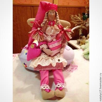Куклы Тильды ручной работы. Ярмарка Мастеров - ручная работа Фея Тель - кукла в стиле Тильда. Handmade.