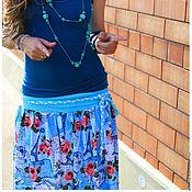 """Одежда ручной работы. Ярмарка Мастеров - ручная работа Юбка """"Письма в Париж"""". Handmade."""