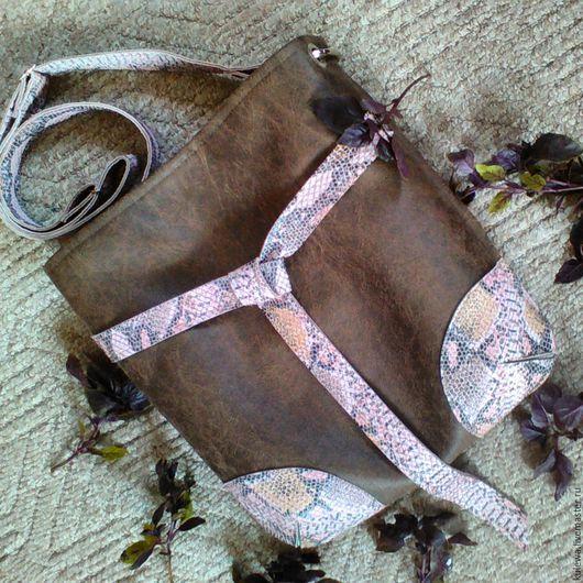 """Женские сумки ручной работы. Ярмарка Мастеров - ручная работа. Купить """"Туласи"""" сумка женская, подарок на день рождения, стиль casual. Handmade."""