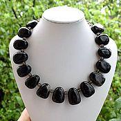 Украшения handmade. Livemaster - original item Necklace amulet black quartz Morion. Handmade.