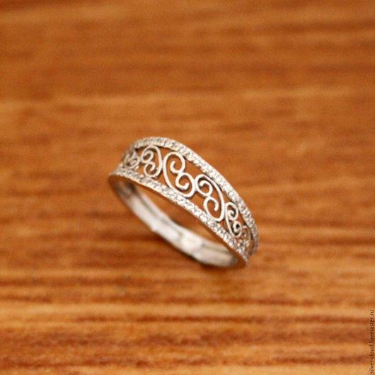 Кольца ручной работы. Ярмарка Мастеров - ручная работа. Купить Серебряное кольцо Этика, серебро 925. Handmade. Серебряный, кольцо