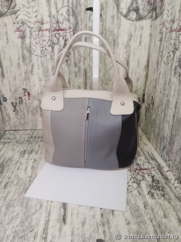 Leather Boombox bag, Classic Bag, Zvenigorod,  Фото №1