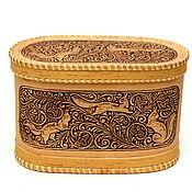 Для дома и интерьера handmade. Livemaster - original item Small box Three Squirrels. Box for storage.. Handmade.