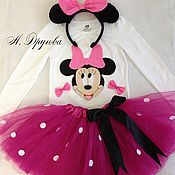Одежда handmade. Livemaster - original item Costume Minnie Mouse. Handmade.