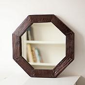 Для дома и интерьера ручной работы. Ярмарка Мастеров - ручная работа Зеркало восьмигранник. Handmade.