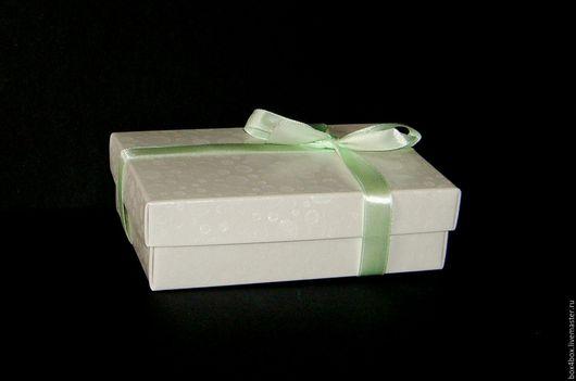 Упаковка ручной работы. Ярмарка Мастеров - ручная работа. Купить Коробки 13x9x4 cм крышка - дно. Handmade. Белый, упаковка
