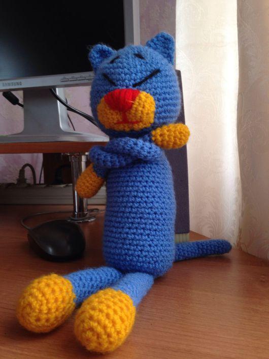 Игрушки животные, ручной работы. Ярмарка Мастеров - ручная работа. Купить Кот Аминеко. Handmade. Кот, игрушка, животное