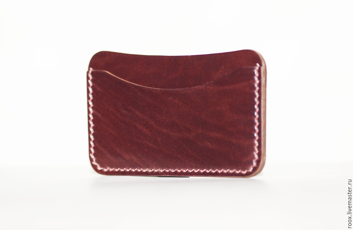 Cordovan card holder card case, Business card holders, Moscow,  Фото №1