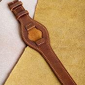 Аксессуары ручной работы. Ярмарка Мастеров - ручная работа Ремешок  из натуральной кожи для часов. Handmade.
