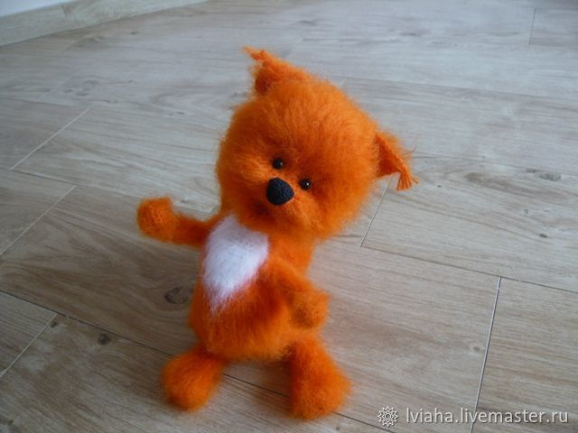 Squirrel Lelik ) - crochet toy squirrel, Stuffed Toys, Teykovo,  Фото №1