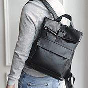 Сумки и аксессуары handmade. Livemaster - original item Leather backpack for men