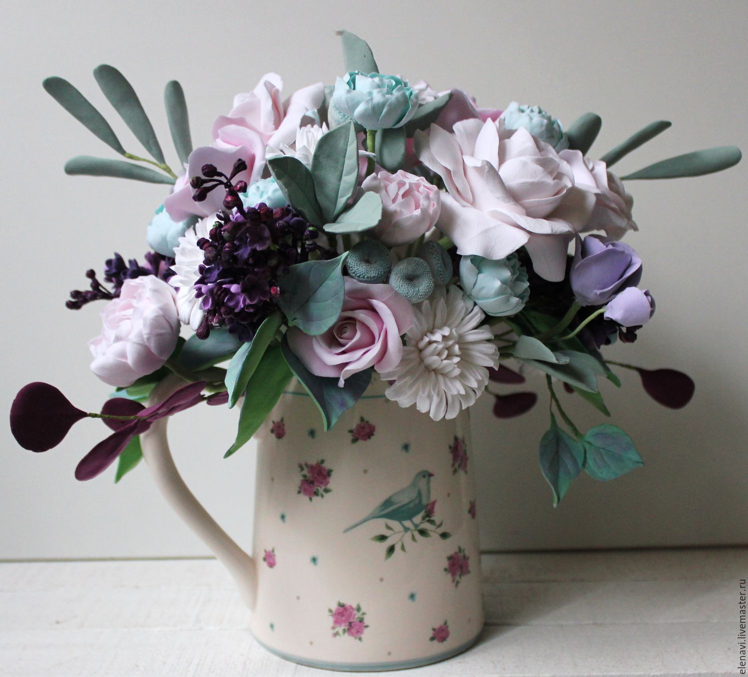 provence a romantic bouquet shop online on livemaster with