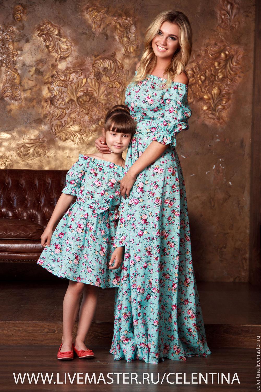 У мамы много платьев