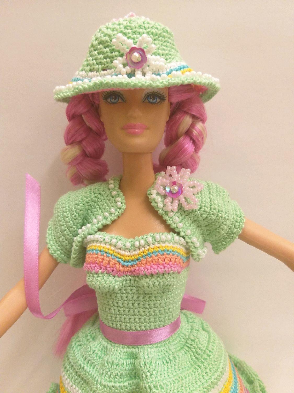 Мелисса одежда для кукол Барби вязанная, Одежда для кукол, Москва, Фото №1