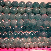 Материалы для творчества ручной работы. Ярмарка Мастеров - ручная работа Аквамарин 4,6,8,10,12 мм. Handmade.