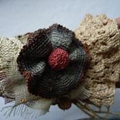 Украшения ручной работы. Ярмарка Мастеров - ручная работа Браслет , вязанный крючком в стиле Бохо. Handmade.