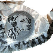 Аксессуары handmade. Livemaster - original item Batik Bacchus felted Pet. Handmade.