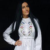 Одежда handmade. Livemaster - original item Romantic white blouse-tunic