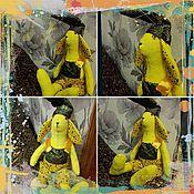 Куклы и игрушки ручной работы. Ярмарка Мастеров - ручная работа Заяц Лимонный Тильда. Handmade.