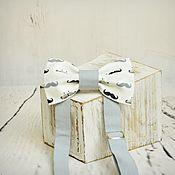 """Аксессуары ручной работы. Ярмарка Мастеров - ручная работа бабочка """"С усиками"""". Handmade."""