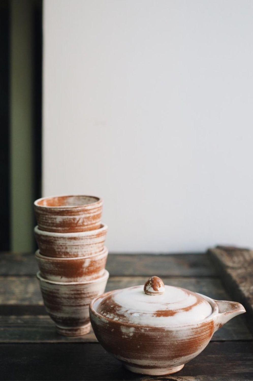 Набор для чайной церемонии, чайник и 4 чашки, Наборы посуды, Щелково,  Фото №1