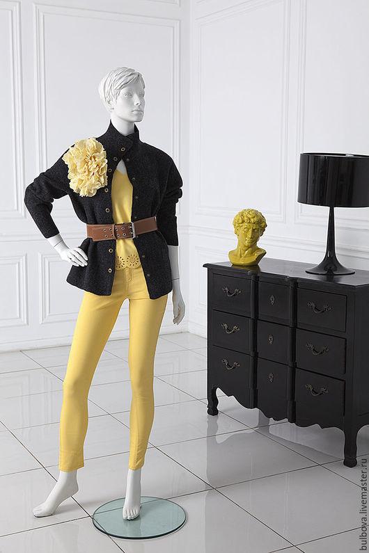 Верхняя одежда ручной работы. Ярмарка Мастеров - ручная работа. Купить Куртка шерстяная Молодежная. Handmade. Серый, шерсть мериноса