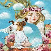 Картины и панно ручной работы. Ярмарка Мастеров - ручная работа Картина Аромат весны. Handmade.