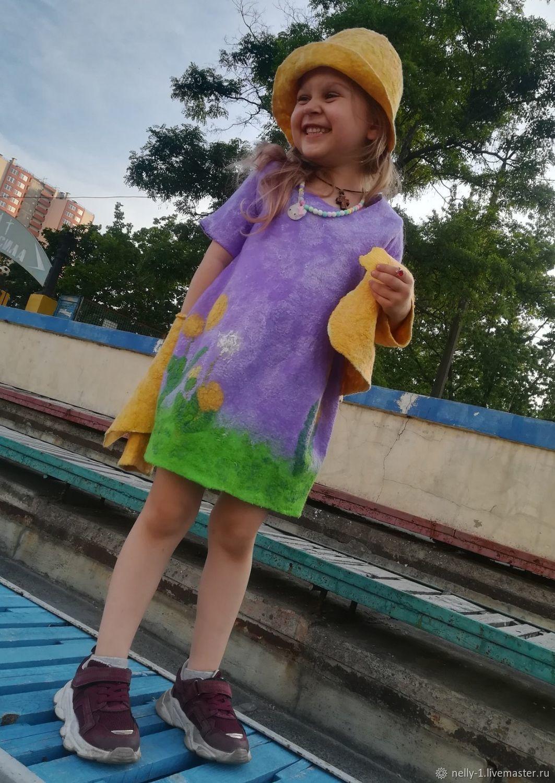 Платье для девочки Одуванчики, Платья, Киев,  Фото №1