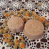 Шампуни ручной работы. Ярмарка Мастеров - ручная работа Твердый шампунь Амла, Каштан и Календула. Handmade.