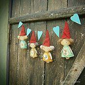 Куклы и игрушки ручной работы. Ярмарка Мастеров - ручная работа Сердечные приветики. Handmade.