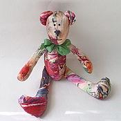 """Куклы и игрушки ручной работы. Ярмарка Мастеров - ручная работа Мишка тильда """"шелковый"""". Handmade."""