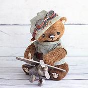 Куклы и игрушки ручной работы. Ярмарка Мастеров - ручная работа Стив мишка тедди 22см. Handmade.