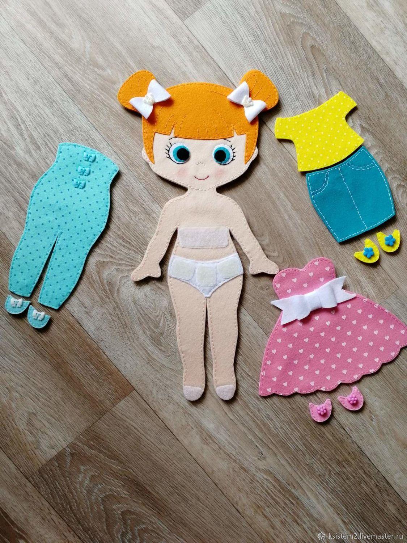 Игровая куколка с набором одежды, Кукольный театр, Барнаул,  Фото №1