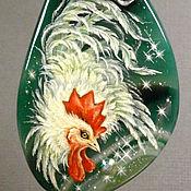 Украшения ручной работы. Ярмарка Мастеров - ручная работа Петух - птица утренней зари. Handmade.