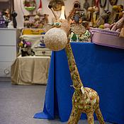 Куклы и игрушки ручной работы. Ярмарка Мастеров - ручная работа Жирафень-Красотень. Handmade.