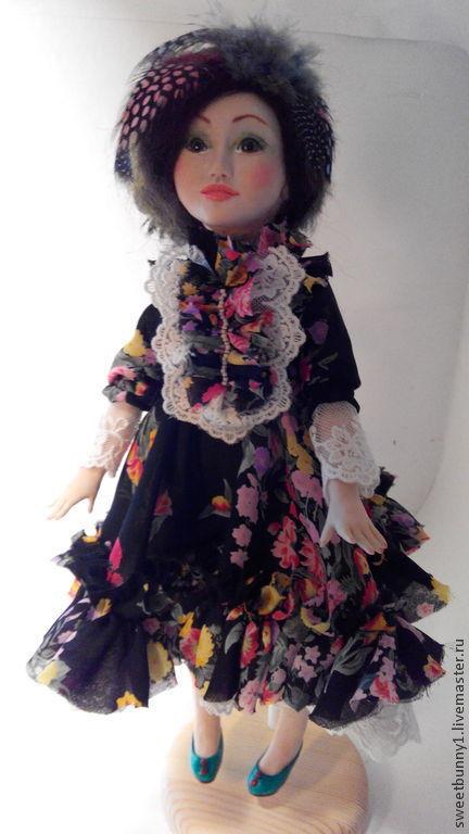 Коллекционные куклы ручной работы. Ярмарка Мастеров - ручная работа. Купить Адель.... Handmade. Разноцветный, кукла коллекционная, авторская кукла