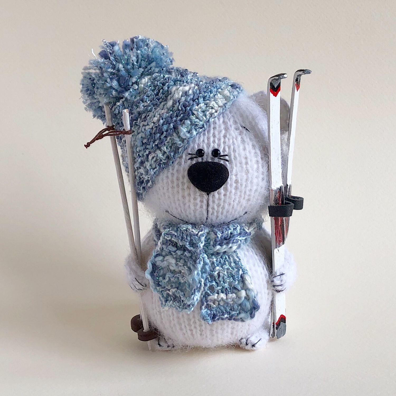 Bear Skier, Stuffed Toys, Moscow,  Фото №1