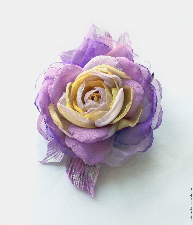 Где купить цветы из шифона