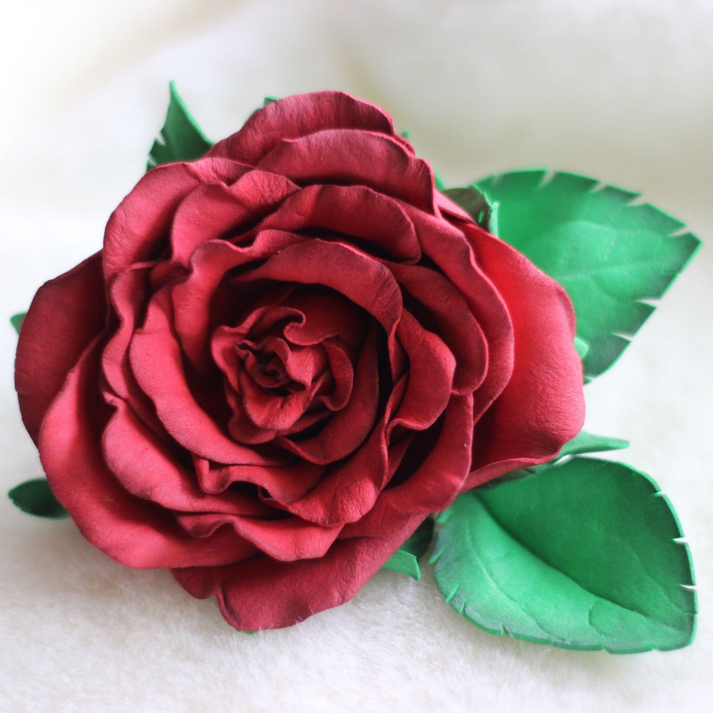 Розы из фоамирана, Заколки, Новосибирск, Фото №1