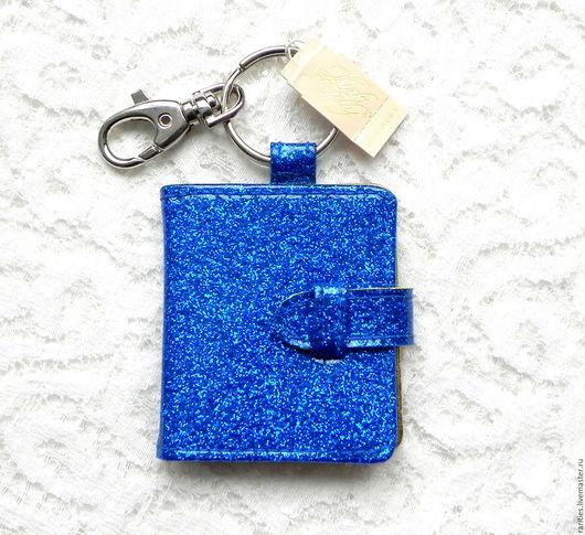 Винтажные сумки и кошельки. Ярмарка Мастеров - ручная работа. Купить Брелок Морская богиня,Kirks Folly,США,рамка для фото,для ключей,синий. Handmade.