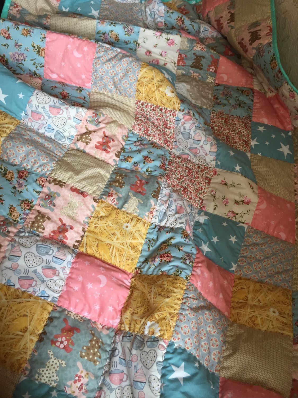 Текстиль, ковры ручной работы. Ярмарка Мастеров - ручная работа. Купить Зайка моя. Handmade. Зайчик, плед для детей