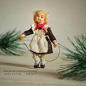 Сувениры и подарки handmade. Livemaster - original item Christmas toy: Pioneer Zoya. Handmade.