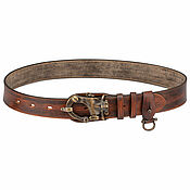 handmade. Livemaster - original item Handmade leather men`s belt