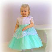 Работы для детей, ручной работы. Ярмарка Мастеров - ручная работа Платье для девочки 1-3 года. Handmade.