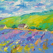 Картины и панно handmade. Livemaster - original item Oil painting on canvas. Summer in Provence.. Handmade.