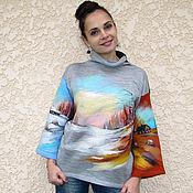 """Одежда ручной работы. Ярмарка Мастеров - ручная работа """"Четыре краски  года - в году четыре цвета """". Handmade."""