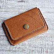 Сумки и аксессуары handmade. Livemaster - original item Brown Cardholder. Handmade.