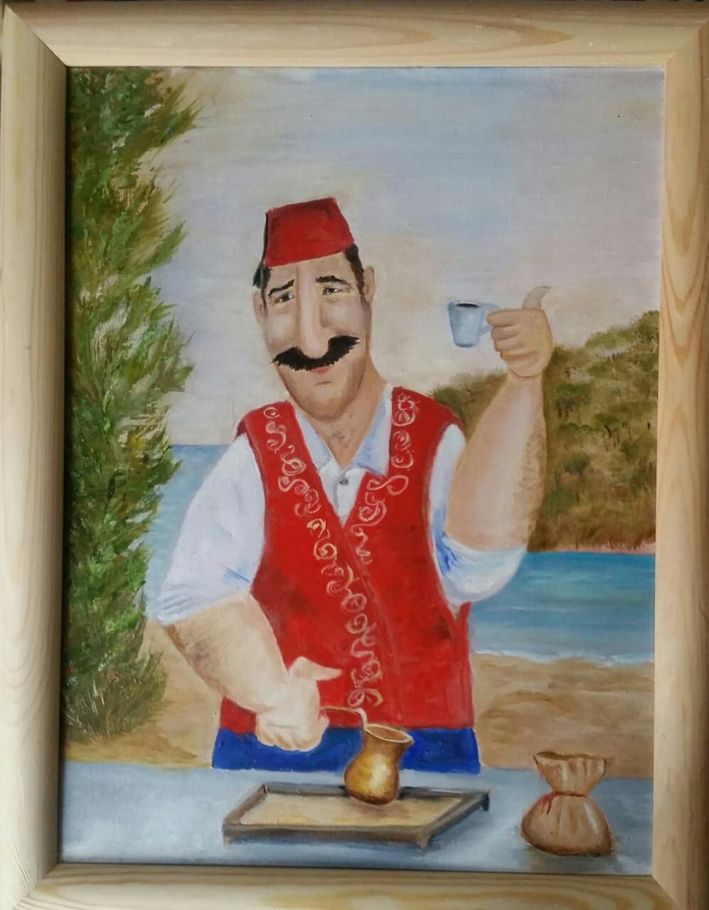 Oil painting Turkey coffee Pot?!, Pictures, Moscow,  Фото №1