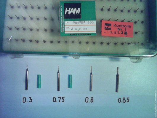 0,3 мм, 0,4мм , 0,75 мм,, 0,8мм и 0,85 мм